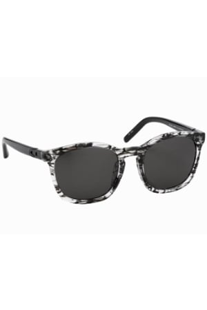 Alexander Wang Clear & Black Tortoise Shell Sunglasses ($355)