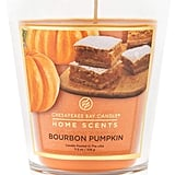 Bourbon Pumpkin Home Scents Glass Jar Candle