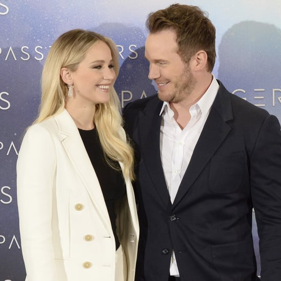 Chris Pratt Talking About Jennifer Lawrence on GMA 2016