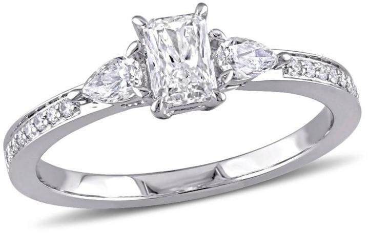 Delmar Jewelers 14K White Gold Diamond Engagement Ring