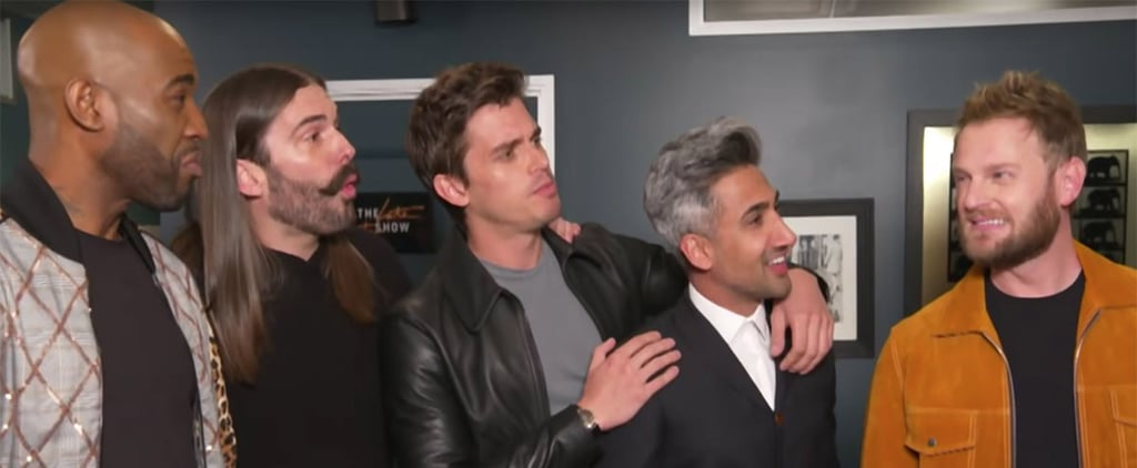 James Corden and Queer Eye Cast Makeover Video
