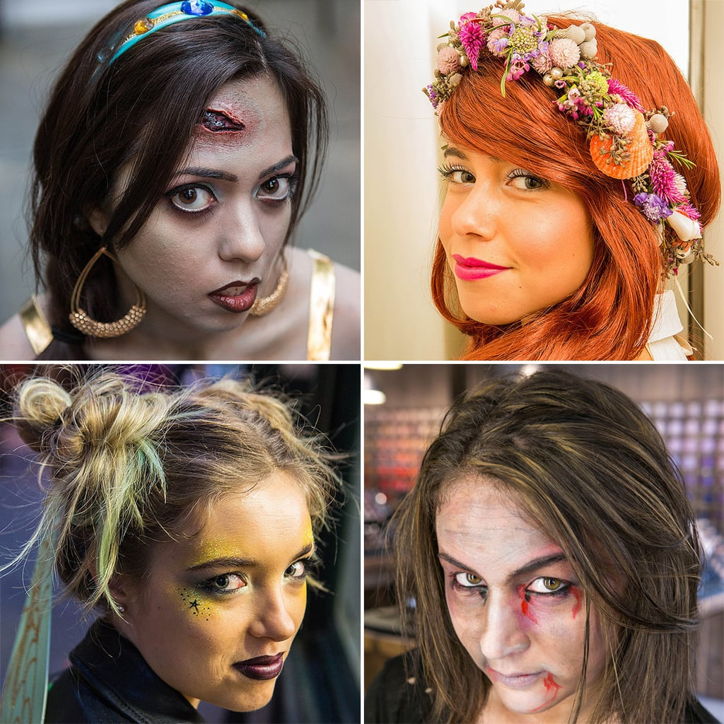 halloween hair and makeup tutorials popsugar beauty - Halloween Tutorials