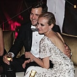 Joshua Jackson and Diane Kruger cozied up at an Inglourious Basterds afterparty in 2009.