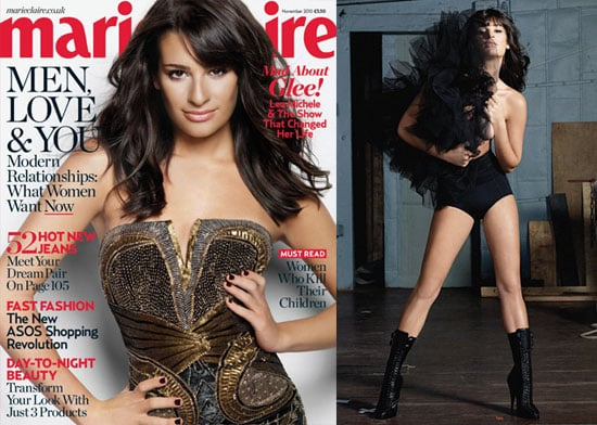 Pictures of Lea Michele Marie Claire
