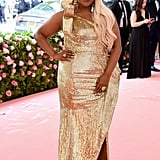 Mindy Kaling Met Gala 2019 Rose Gold Hair
