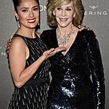 Salma Hayek and Jane Fonda
