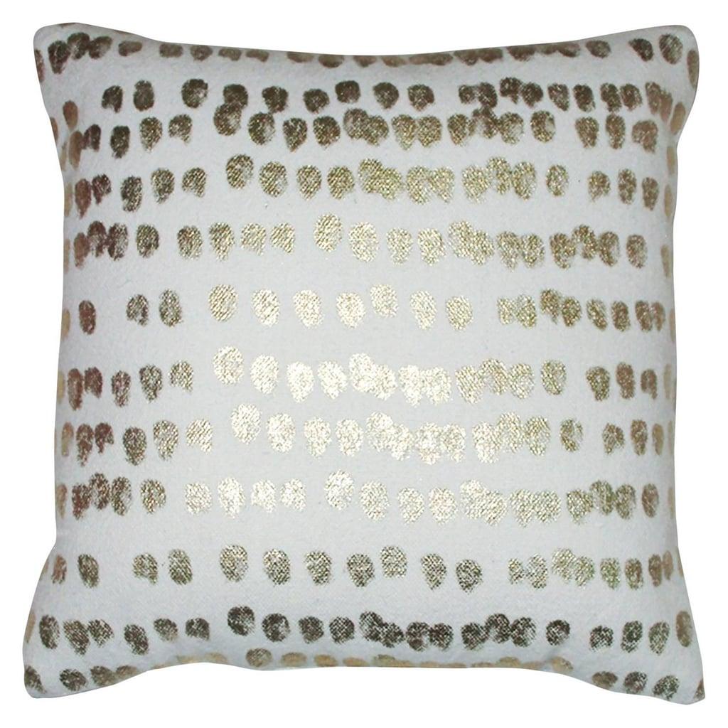 Threshold Thumbprint Throw Pillow ($18)
