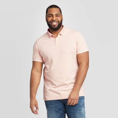 Men's Big & Tall Pique Polo Shirt