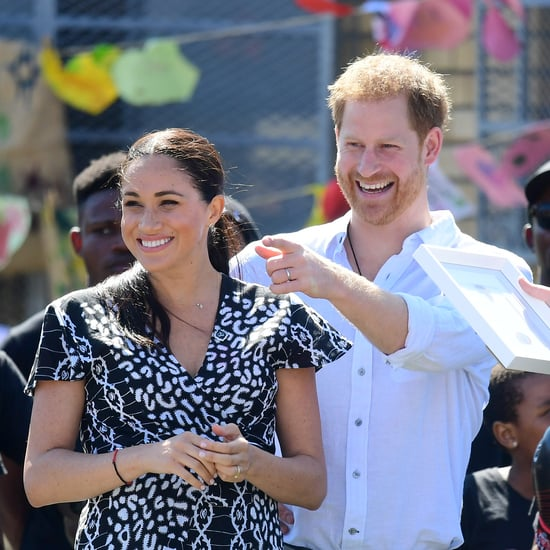 "Prince Harry Calls Meghan Markle the ""Best Mum"" in Cape Town"