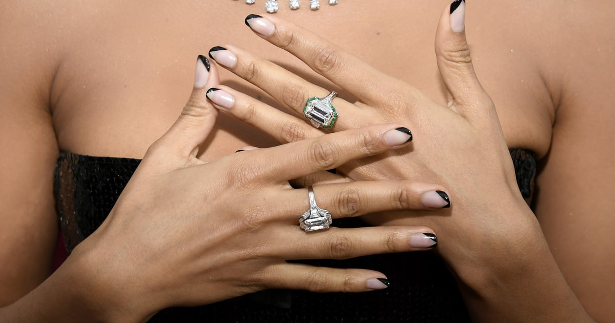 Ask Your Manicurist For the Double French Manicure Next Time You're at the Salon