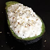 Cottage-Cheese-Stuffed Avocado