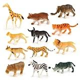 Plastic Mini Wild Animals
