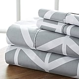 Ienjoy Home Four Piece Sheet Set Arrow Patterned
