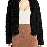 BLANKNYC Faux Fur Teddy Coat