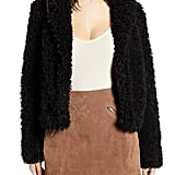 BlankNYC Faux-Fur Teddy Coat