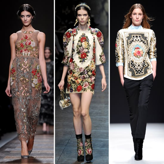 Tapestry and Needlepoint Trend Fall 2012