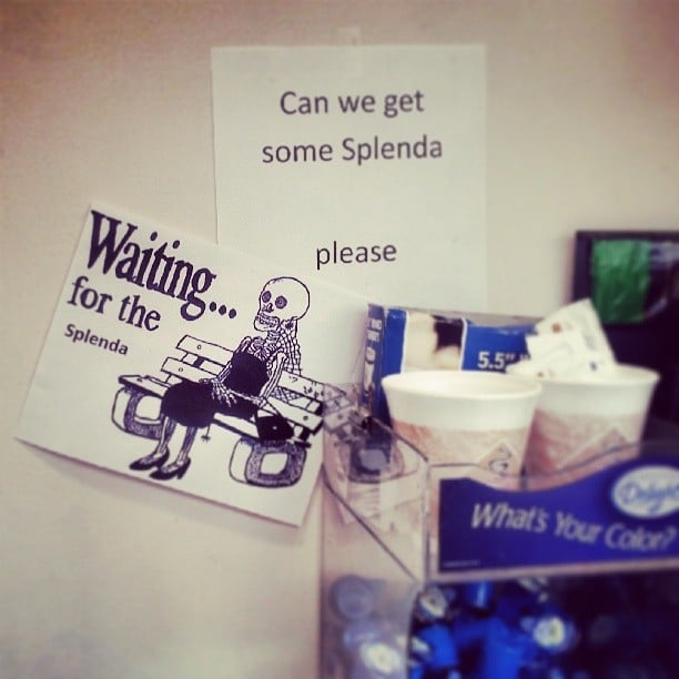 Dying For Splenda