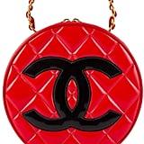 Chanel Vintage Round Vanity Tote