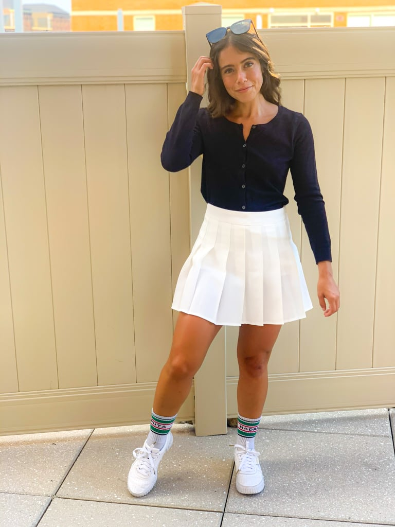 Tennis Skirt Outfit #2