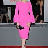 Ginnifer Goodwin had bell sleeves at the People's Choice Awards.