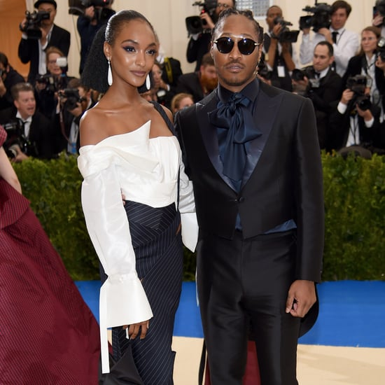 Jourdan Dunn H&M Dress at Met Gala 2017
