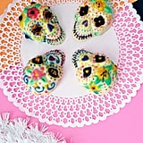 Take it up a notch and go for a chocolate sugar-skull recipe, like this one.
