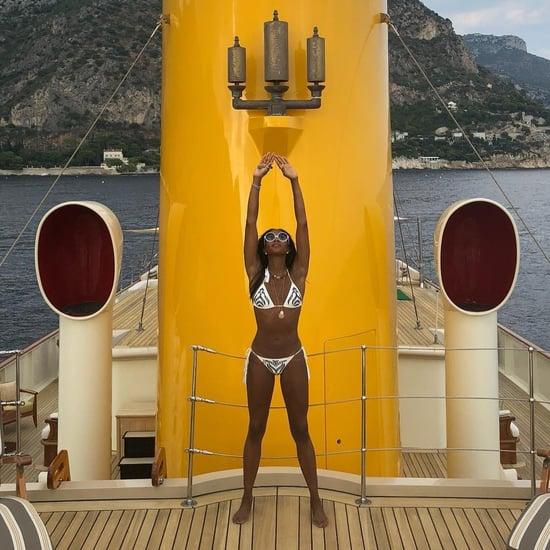 Naomi Campbell Wearing a Bikini