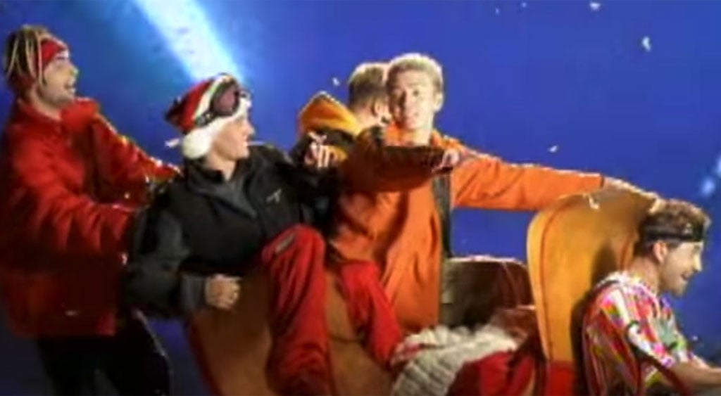 Boy Band Christmas Songs | POPSUGAR Celebrity Australia
