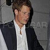 Prince Harry looked handsome in London.