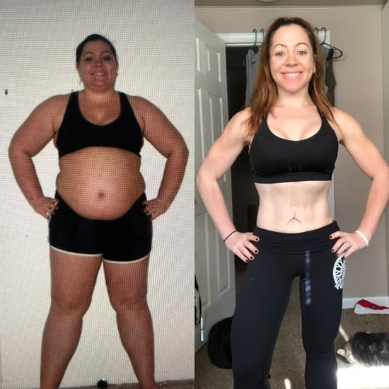 90-Pound Weight-Loss Story Before and After