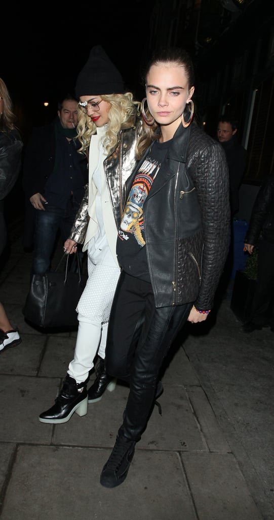 Rita Ora and Cara Delevingne