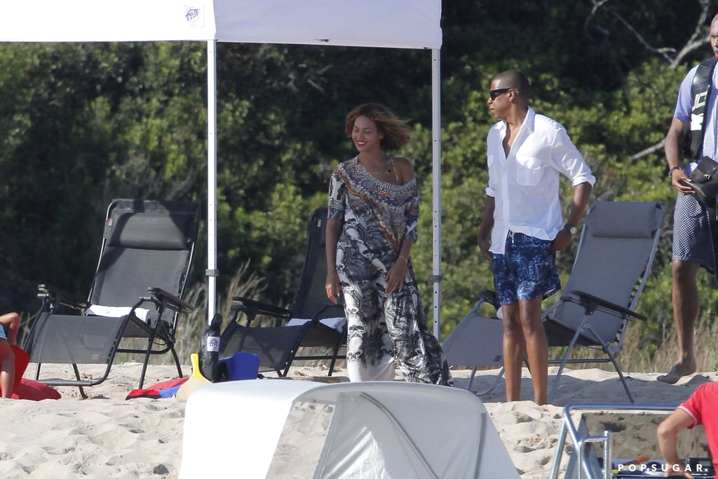 Beyonce and Jay Z on Vacation in Corsica For Her Birthday