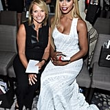 Katie Couric and Laverne Cox