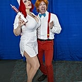 Jessica Rabbit and Roger Rabbit