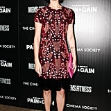 Jaimie Alexander wore Pre-Fall 2013 Naeem Khan at the Pain and Gain screening in New York. Source: Matteo Prandoni/BFAnyc.com