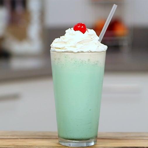 Vanilla-Mint Milkshake