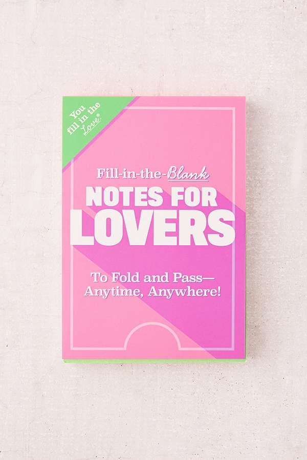 Fill in the blank notes for lovers books for couples popsugar fill in the blank notes for lovers sciox Image collections