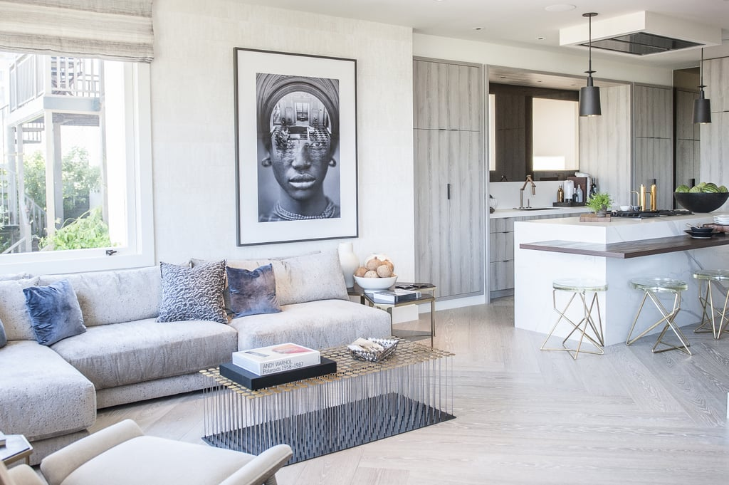Make a Big Statement with Oversized Art | Design Hacks From a $10 ...
