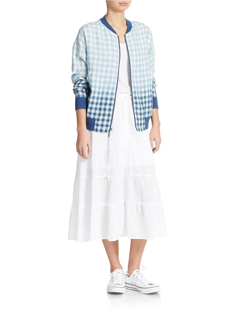 DKNY Pure Check Bomber Jacket ($395)