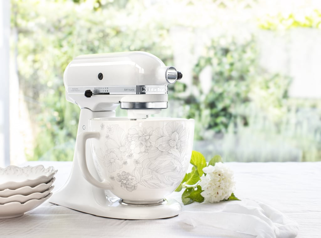 Whispering Floral Kitchenaid S New Stand Mixer Ceramic