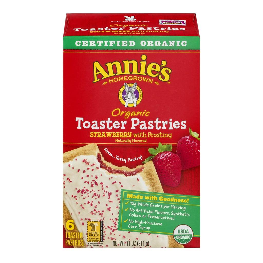 Pop-Tarts: Eat Annie's Organic Toaster Pastries Instead