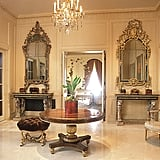 Beaux-arts decor abounds in the over-the-top condo, which comes with two parking spaces and a 24/7 doorman.