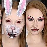 4 Snapchat Filters Makeup Tutorial/DIY (Second Set!)
