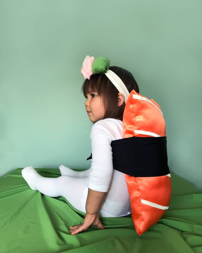 sushi | toddler halloween costume ideas 2018 | popsugar family photo 8