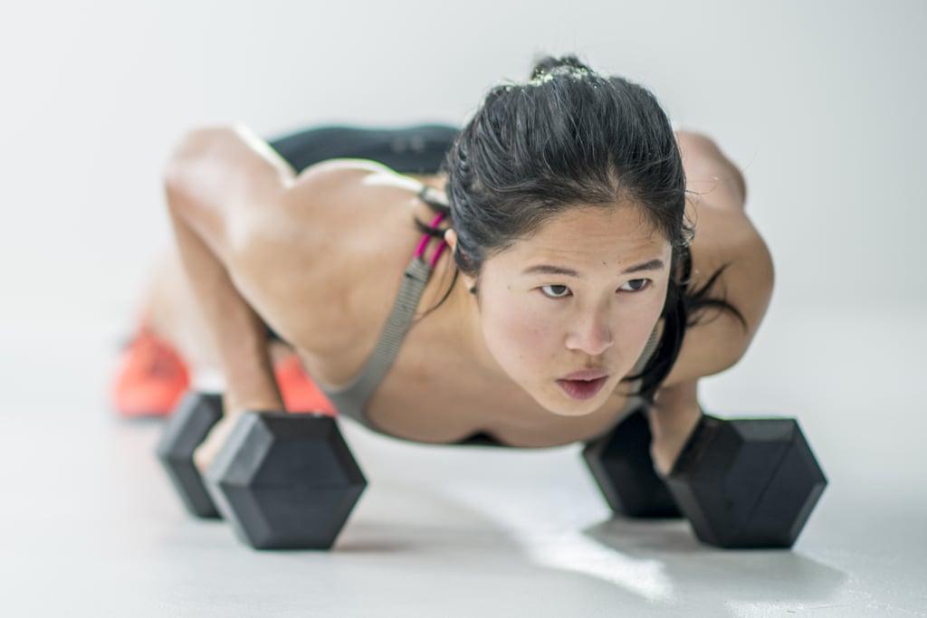45-Minute Dumbbell AMRAP Workout