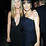She and Salma Hayek attended the LACMA Art + Film Gala in October 2012.