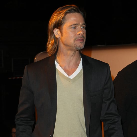 Brad Pitt Taping Inside the Actors Studio Pictures in NYC