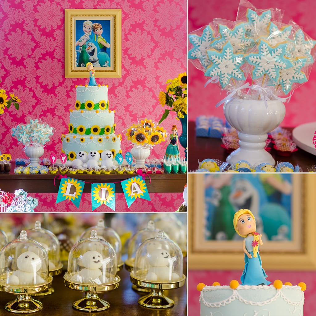 Frozen Birthday Party Theme Ideas POPSUGAR Moms