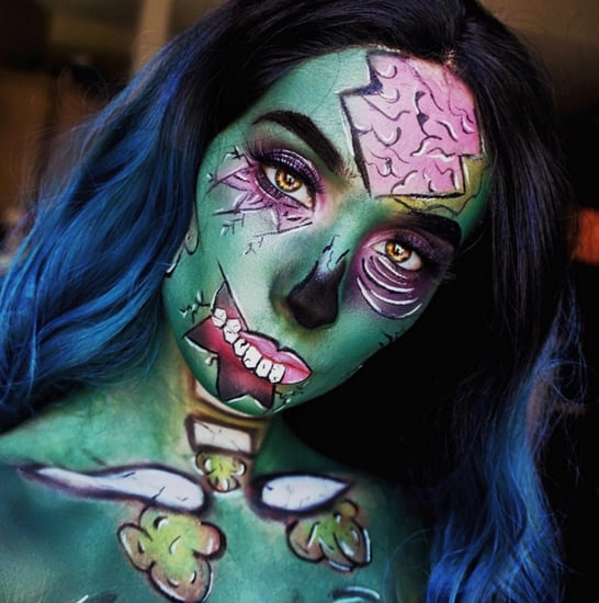 Halloween Makeup Tutorials From Instagram