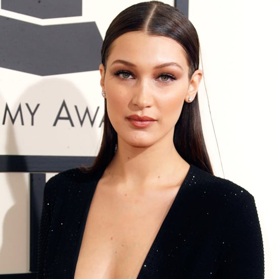 Bella Hadid's Dress at the Grammys 2016